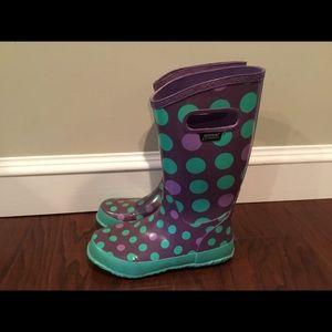 Bogs Krainboot Dots rubber rain boots 6/37